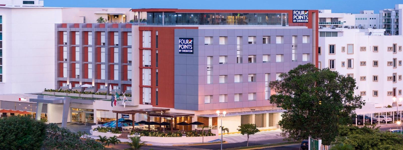 Hotel Near Cancun Airport - Four Point by Sheraton Cancun Centro